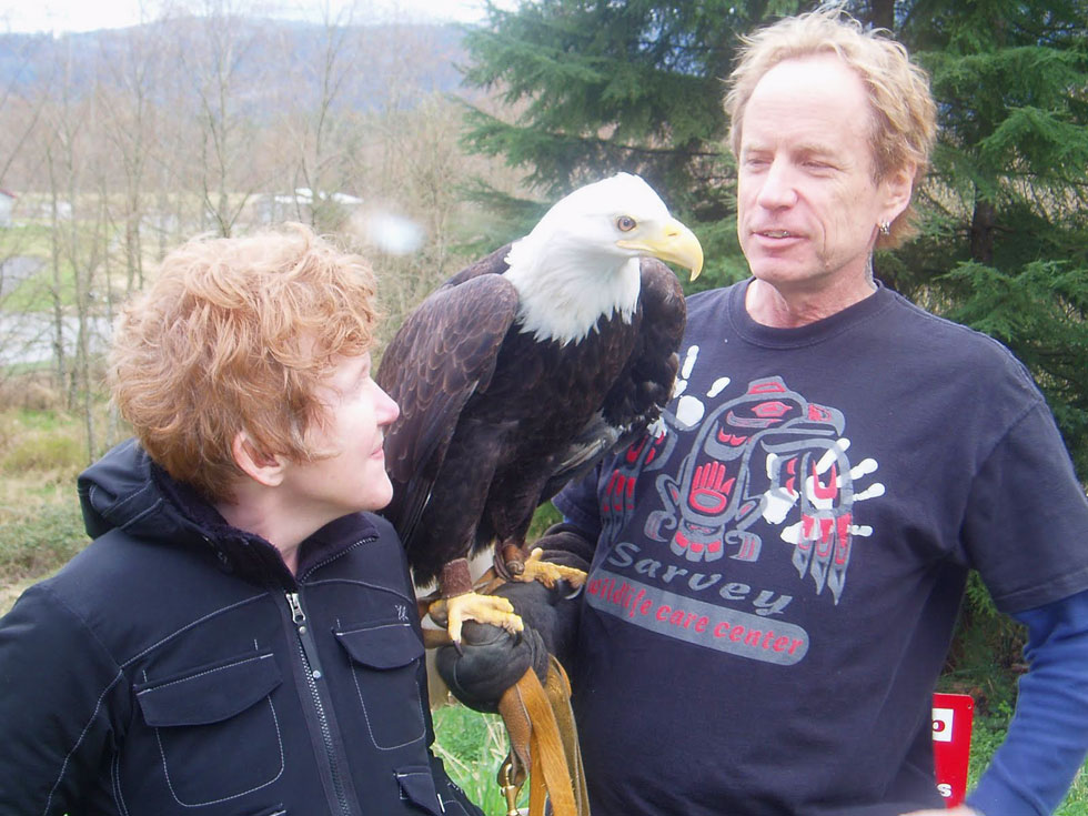 Jeff and his Eagle Freedom