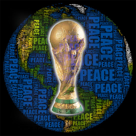FOOTBALL WORLD CUP PEACE WAVE
